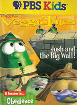 Josh and the Big Wall PBS Kids Front Cover