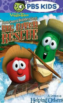 Tomato Sawyer and Huckleberry Larry's Big River Rescue PBS Kids Front Cover