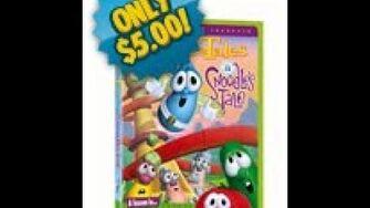 Veggie Tales A Snoodle's Tale Rare 2004 Prototype DVD 2nd Version
