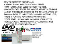 Back Cover of VeggieTales Kids The Complete First Season DVD