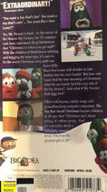 The Toy That Saved Christmas Original CTW Back Cover
