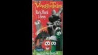 Veggie Tales Rack Shack and Benny Rare 1998 Lyrick Studios Prototype VHS)