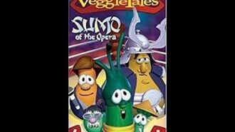 Veggie Tales Sumo of the Opera Rare 2004 Prototype VHS