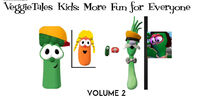 VeggieTales Kids More Fun for Everyone 1999 VHS front cover