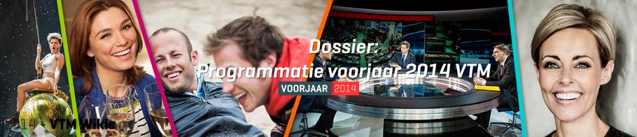 Programmatie voorjaar 2014 bij VTM