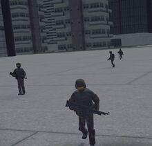 Enemy Infantry