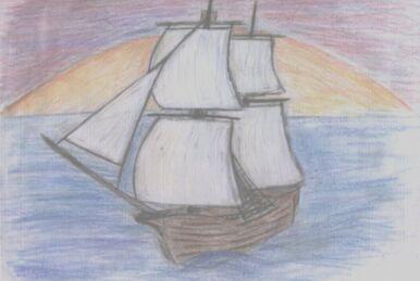 Braw Bold Ship by Tseegadu