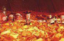 Toy Story 3 - Cena do incinerador