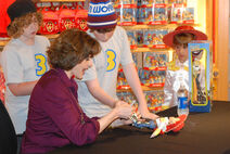 Joan Cusack June 2010 Toy Story