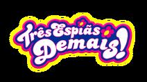 Três Espiãs Demais Logo em Português
