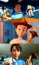 Andy Toy Story trilogia