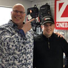 Ken Woychesko and Brad Loree at Hamilton Film Studios