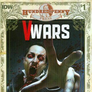 Hundred Penny Press' <i>V-Wars</i> (2014) #1' Cover by <a href=