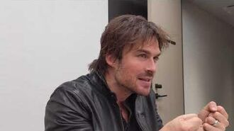 Ian Somerhalder talks about V-Wars