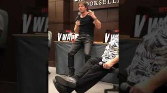 Barnes & Noble QA, Ian Somerhalder, Nov 18, 2019