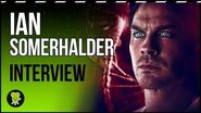 """Ian Somerhalder ('V-Wars') """"This is not 'The Vampire Diaries'.."""