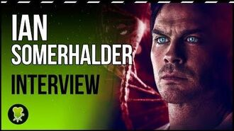 "Ian Somerhalder ('V-Wars') ""This is not 'The Vampire Diaries'... This is scary looking stuff"""