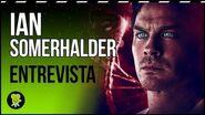 """Ian Somerhalder ('V-Wars') """"Estos vampiros no son los de 'Crónicas vampíricas'.."""