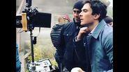 V-Wars Set, Ian Somerhalder directs Episode 109