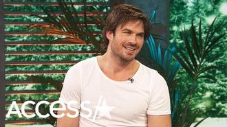 Ian Somerhalder Insists Sexy Vampires Will Be In 'V Wars' And We're Here For It!