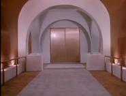 Science Frontiers hallway