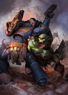 Ultramarine vs Ork 2