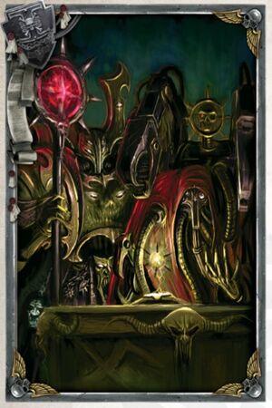 Black Legion Sorcerer and Heretek
