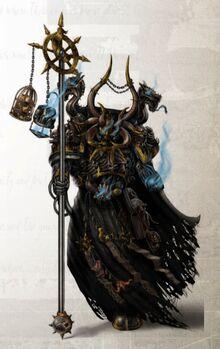 Black Legion Sorcerer Dazhak