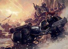 Black Crusade vs Iron Hands