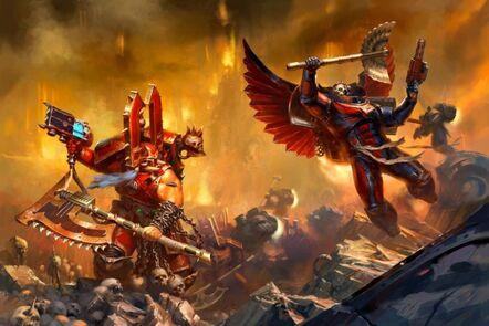 Kharn vs Blood Angels