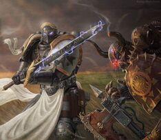 Champion Black Templar