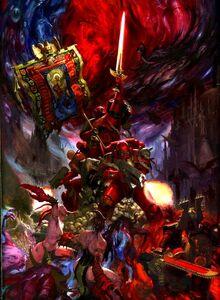 Blood Angels vs Chaos