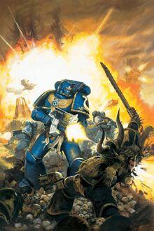 Ultramarine vs Black Legion