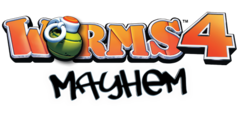 Worms 4 Mayhem Logo