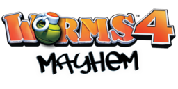 Worms 4 Mayhem Logo