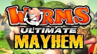 Worms Ultimate Mayhem - Сетевой Режим 3 - Выпуск