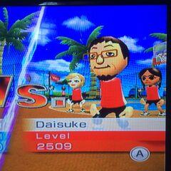 Daisuke playing Basketball at High Noon