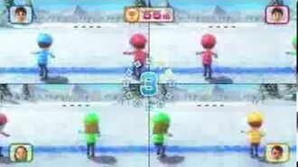 Wii Party U - Super Snow Sliders