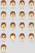 Pierre's Face Expressions (Part 2)