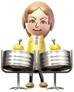 Marsha-steel drums