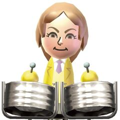 An official Wii Music artwork, depicting her as
