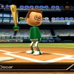 Oscar in Baseball.