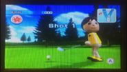 Emily in Golf