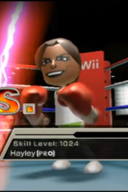 Hayley as a Pro in Boxing