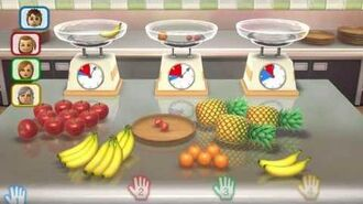 Wii Party U Minigame Showcase - Balanced Diet