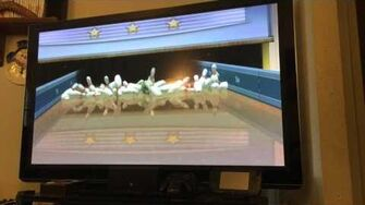 Wii Sports Bowling Power Throws Perfect 890-0