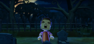Pablo as a Zombie in Zombie Tag in Wii Party