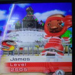 James in Swordplay Speed Slice.