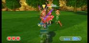 Elisa wearing Red Armor in Swordplay Showdown