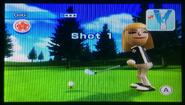 Gabi in Golf